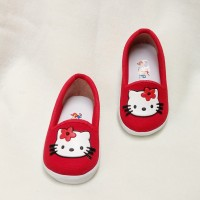 harga 1 2 3 tahun sepatu slop hello kitty keren cute warna merah sck03 Tokopedia.com