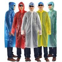 Travel Portable Raincoat Filament Thick Section Jas Hujan