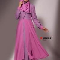 Gamis Busana Muslim Premium Ukhti Kagumi 21 Pink