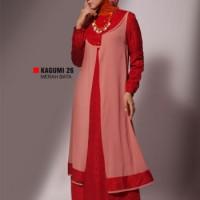 Gamis Busana Muslim Premium Ukhti Kagumi 26 Merah Bata