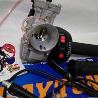harga Paket Karburator Keihin PWK 30 + Gas Spontan Daytona 2 tombol Tokopedia.com