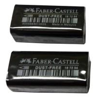 Penghapus Pensil Faber Castell Eraser Dust Free 7294 Hitam