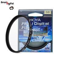 Filter UV HOYA Pro1 58mm lens canon nikon sony fuji samsung dll