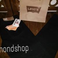 Celana Original Levis 501 Hitam Pekat Impor USA / Grosir Celana