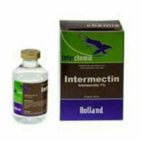 obat intermectin suntik koreng/ gatal/ kutu kelinci kucing anjing