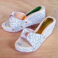 harga DE02 Sandal Wedges Wanita Pita Sexy - Sendal Pesta Selop Ribbon Cantik Tokopedia.com