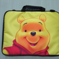 "Tas laptop / softcase laptop uk 10"" winnie the pooh"