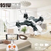 FQ777 951W WiFI Live First Person View 2.4Ghz 4CH 6Axis NANO Drone