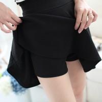 Jual celana flare a line slim kurus rok skirt dalam pants fashion wanita Murah
