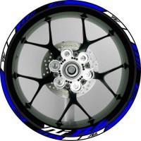 "Stiker Velg Motor Yamaha YZF R6 Ukuran Rim/Velg 17"""