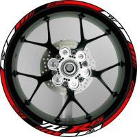 "Stiker Velg Motor Yamaha YZF R15 Ukuran Rim/Velg 17"""
