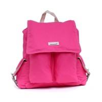 tas wanita pink cantik / tas gendong ransel wanita GC tas main cewe