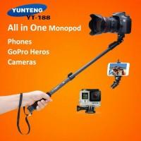 TOL!!! 100 % ORIGINAL TONGSIS MONOPOD YUNTENG FOR GO PRO IPHONE OPPO