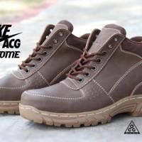 Jual Nike ACG Air Max Goadome Mens Boots Brown Coffee Colors Baru |
