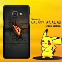Cover / Casing HP Samsung Galaxy A3, A5, A7 2016 Asus Dark Logo X3997