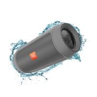 JBL Charge 2+ Grey Portable Bluetooth Speaker USB Wireless 2 + Plus