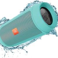 JBL Charge 2+ Teal Portable Bluetooth Speaker USB Wireless 2 + Plus