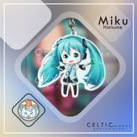 Gantungan Kunci Akrilik Vocaloid Fanart Celtic Works