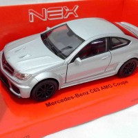 Diecast Welly Nex 1:36 Mercedes-Benz C63 AMG Coupe