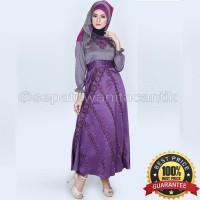 Gamis Modern/Baju Muslim Wanita 2016 Model Terbaru/Abaya Saten LIMITED