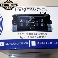Double Din Tv Mobil My Carr OEM Rush / Terios