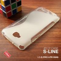 LG G Pro Lite Dual D686 bumper armor kondom silikon TPU hard case