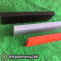 Jual 3 Rak Dinding, Minimalis, Gantung, Melayang, Kayu Uk. 50,40,30 x 10 Murah