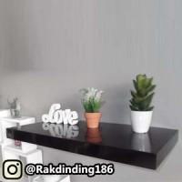 1 Rak Dinding, Minimalis, Gantung, Melayang, Kayu Uk. 20 x 15 x 3.8 cm