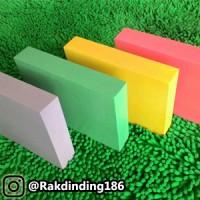 4 Rak Dinding, Minimalis, Gantung, Melayang, Kayu Uk.20 x 20 x 3 cm
