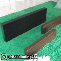 3 Rak Dinding, Minimalis, Gantung, Melayang, Kayu Uk. 40 x 10 x 3 cm