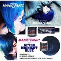 Manic Panic After Midnight Blue CLASSIC Share in Jar 10ml Ori Murah