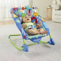 harga Bouncer Fisher Price Deluxe Infant to Toddler Comfort Rocker Tokopedia.com