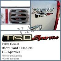 harga Paket Hemat Door Guard + Emblem TRD Sportivo Tokopedia.com