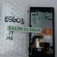 LCD TOUCHSCREEN + FRAME SONY XPERIA M5 ORI FULLSET