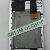 LCD TOUCHSCREEN + FRAME SONY XPERIA C5 ULTRA E5553 ORI FULLSET