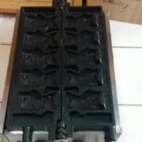 TAIYAKI FISH WAFFLE MACHINE / MESIN WAFFLE BENTUK IKAN ELECTRIC