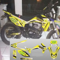 Stiker Custom Body Motor VIAR CROSS X 150
