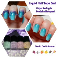 Mini Liquid Nail Tape Pelindung Jari Peel Off Mess No More Latex