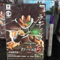 mainan action figure dragonball raditz statue box