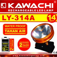 harga Senter Kepala Kawachi LY 314A 14w Water Proof Tahan Air Lithium Tokopedia.com