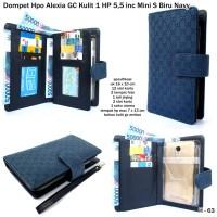 Dompet Hpo Alexia Gc Kulit 1 Hp 5,5 Inc Mini S Biru Navy
