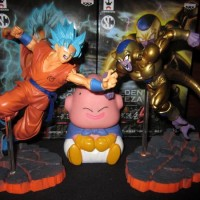 "Banpresto Dragon Ball Scultures V ""Special Figures"" - Son Gokou Ss God"