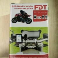 harga Holder hp & gps universal fly di stang / spion sepeda motor Tokopedia.com