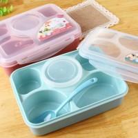 Jual Lunch Box Kotak Makan Sup Yooyee 5 Sekat bento Murah