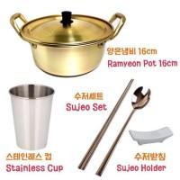Panci Ramyeon Set - 1set seperti foto utama [Ukrn 14cm/16cm]