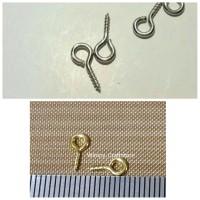 Eyescrew Eyepin Sekrup Bahan Aksesoris Peralatan Craft Alat Clay