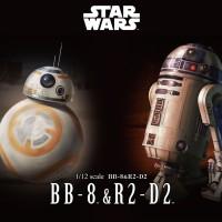 Star Wars BB-8 & R2-D2 1/12 BANDAI BB8 R2D2