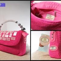 Jual Amanikam Acrylic Crochet Bag / Tas Rajut
