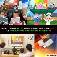 Video Edukasi Animasi/Kartun Anak Muslim/Islami ! Flashdisk 16 GB