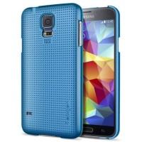 Jual SPIGEN SGP Ultra Fit Samsung Galaxy S5 - Electric Blue Baru | C